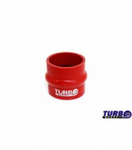 Silikoninis sujungimas antivibracinis TurboWorks raudonas 84mm