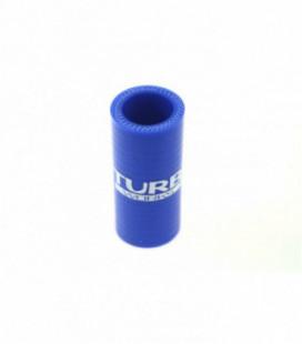 Silikoninis sujungimas TurboWorks mėlynas 25mm