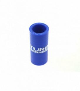 Silikoninis sujungimas TurboWorks mėlynas 28mm