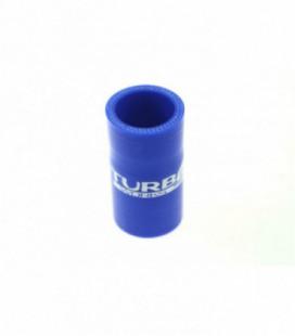Silikoninis sujungimas TurboWorks mėlynas 35mm
