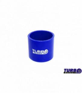 Silikoninis sujungimas TurboWorks mėlynas 63mm