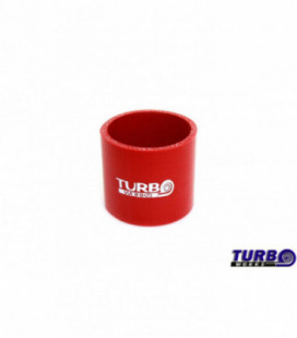 Silicone connector TurboWorks Red 60mm
