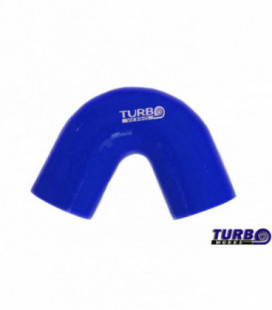 Silikoninė alkunė TurboWorks mėlyna 135 laipsnių 67mm