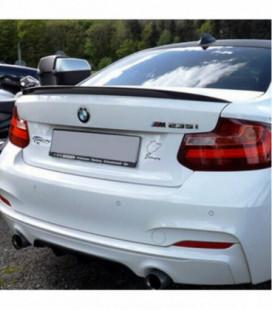 Bagažinės spoileriukas - BMW 2 F22 PU