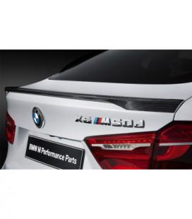 Bagažinės spoileriukas - BMW X6 F16 2014+ Carbon