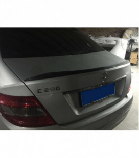 Spoiler Cap - Mercedes-Benz C W204 2007-2013 glass