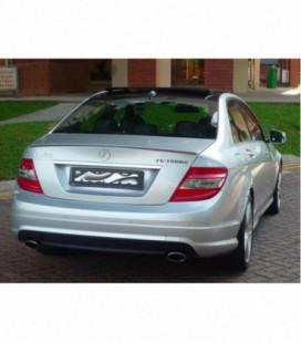 Bagažinės spoileriukas - Mercedes-Benz C-Class W204 08-13