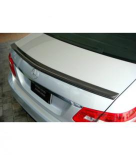 Spoiler Cap - Mercedes-Benz E W212 4D Carbon