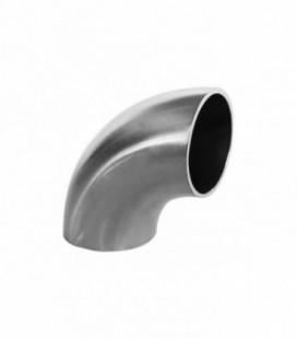 Stainless elbow 90deg 42mm